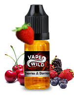 Cherries & Berries e-Juice, 30мл, VG 80%+ [ Max VG ]
