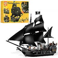 Конструктор Lepin Пираты Карибского моря: Черная Жемчужина 16006, 804 дет