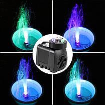 Насос для фонтана с подсветкой светодиодной 15W , фото 2