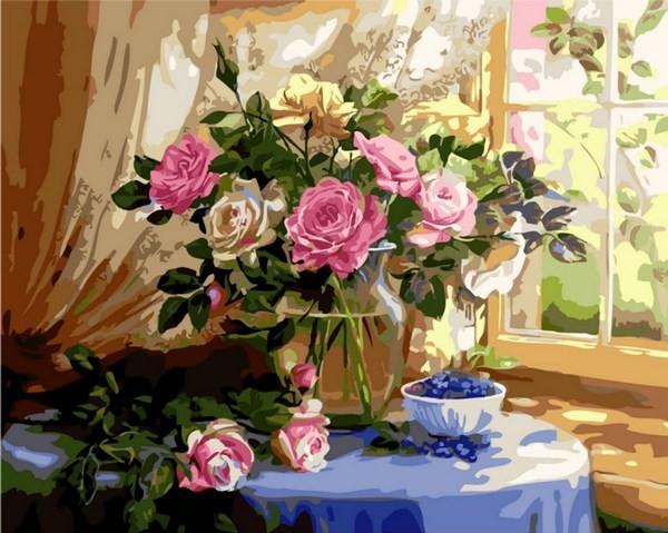 Картины по номерам 40×50 см. Прекрасное утро