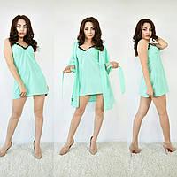 Набор халат с ночной рубашкой Новинки от ТМ Селим текстиль