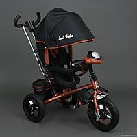 Трехколесный велосипед Best Trike 6590, надувные колеса, бронзовый