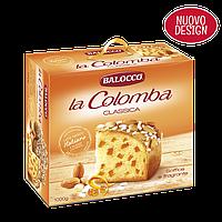 Пасхальный кулич итальянский Balocco la Colomba Classica с цукатами и миндалем 750 г., фото 1