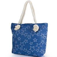 Женская пляжная джинсовая сумка ETERNO (ЭТЕРНО) DCA-004-02