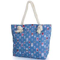 Женская пляжная джинсовая сумка ETERNO (ЭТЕРНО) DCA-001-02