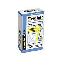 Сухие смеси Вебер Клей для пенопласта Weber therm EPS