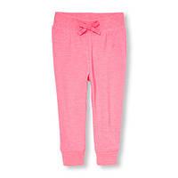 Спортивные штаны розовые для девочки ChildrensPlace 4Т
