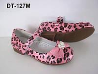 Леопардовые туфли для девочки