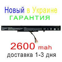 Аккумулятор батарея Asus  F550D R752LJ R752LD R752LB R752M R752L R751J P750L F751LX F751L