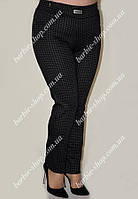 Модные женские брюки в клеточку 16586-2