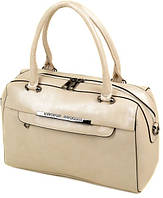 Женская сумка из экокожи Podium 3-03 5076-1 l-beige Бежевый