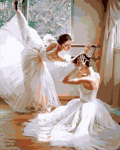 Картины по номерам 40×50 см. Балерины Художник Гуань Цзэцзуй