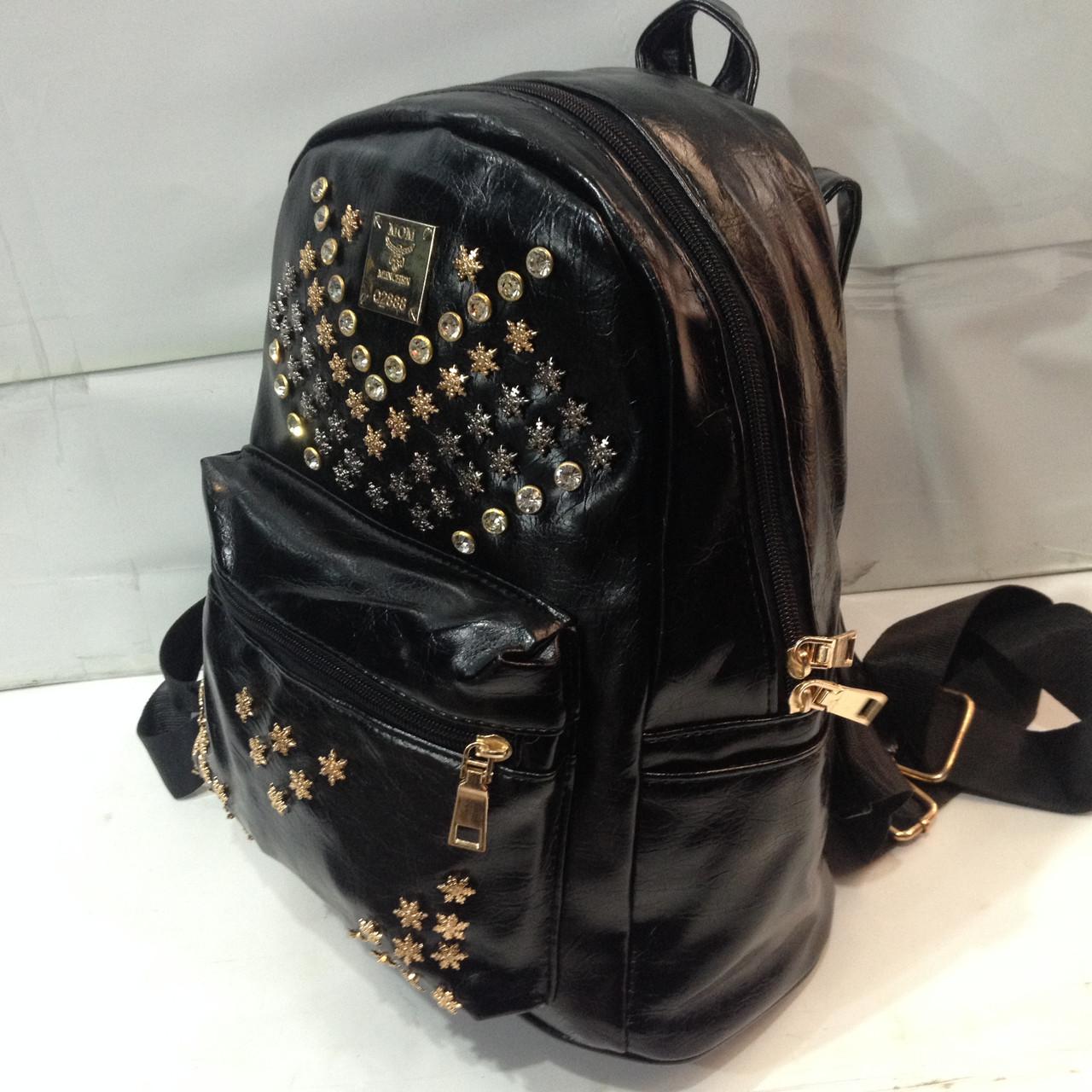 Рюкзак лаковый с шипами рюкзак спецназ гру