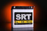 Мото аккумулятор 9A/12V SRT кислотный