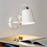 Светильник LOFT  настенный   DL -B150   WHITE E27, фото 2