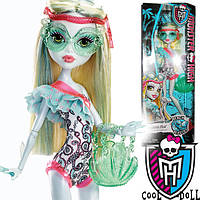 Кукла Monster High Beach Beasties Lagoona Blue  Лагуна Блу Пляжная Вечеринка Пляж В Купальнике