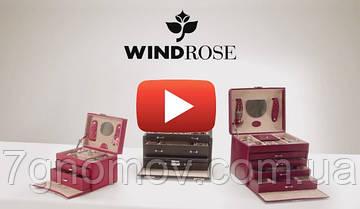 Видео обзор шкатулок для украшений от немецкой торговой марки Windrose