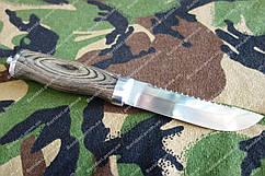 Нож нескладной из стали 440С  225 мм