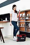 Швабра-вертушка з віджимом VILEDA EasyWring&Clean Turbo (комплект для прибирання Ізі Вринг Турбо Віледа) Чехія, фото 6