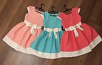 Милое платьице для девочки 02358