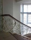Ковані сходи, огородження сходів, фото 3