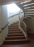Ковані сходи, огородження сходів, фото 4