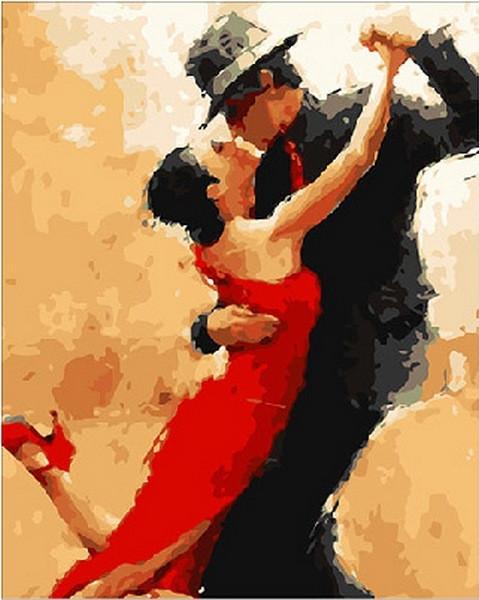 Картины по номерам 40×50 см. Магия танго Художник Андре Кон