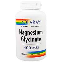 Глицинат магния Solaray, 400 мг, 120 капсул