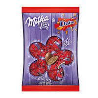 Шоколадные яички Milka «Eier Daim» (С кусочками печенья), 86 г.
