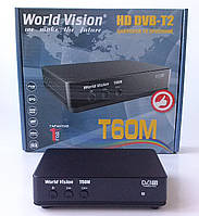 Т2 тюнер World Vision Т60M  dvb t2 \ цифровая приставка