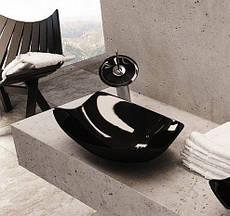 Черная раковина Rea 71037