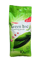 Порошок пральний Green Line Gentle 10 кг, арт.000776