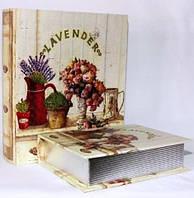 """Книга-шкатулка """"Лаванда"""" на магните набор 2в1 327-1Е"""