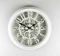 Часы настенные 36 см 069 white