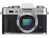 Фотокамера беззеркальная Fujifilm X-T10 Body Silver
