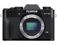 Фотокамера беззеркальная Fujifilm X-T10 Body Black