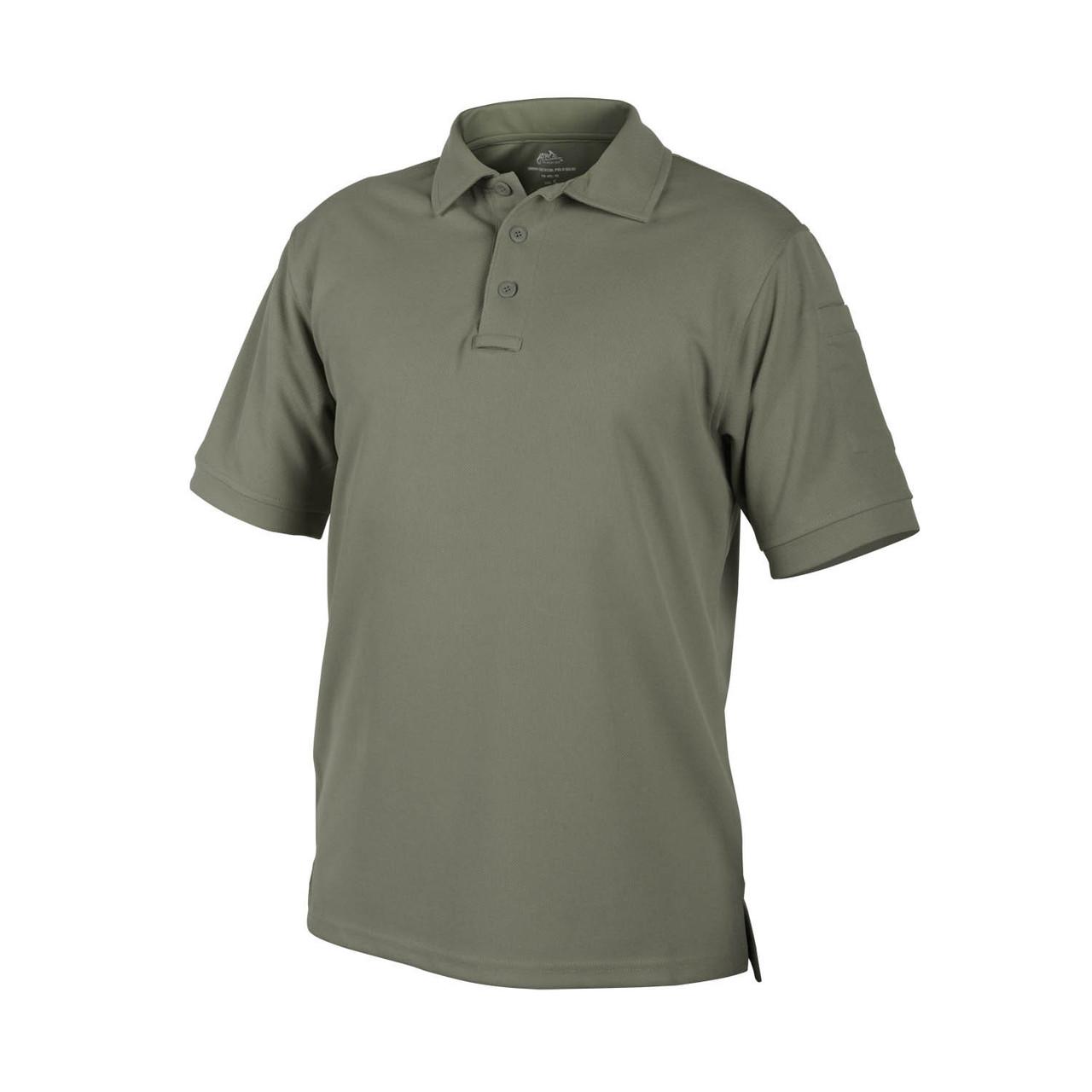 Термофутболка поло тактическая Helikon-Tex® UTL® Polo - Adaptive Green