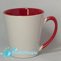 Чашка сублимационная LATTE Красная