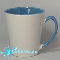 Чашка сублимационная LATTE Голубая