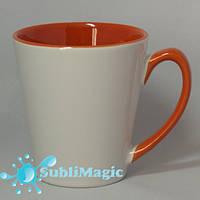 Чашка сублимационная LATTE  Оранжевая