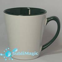 Чашка сублимационная LATTE  Зеленая