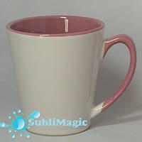 Чашка сублимационная LATTE  Розовая