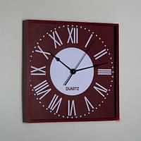 Часы настенные.квадратные Lefard 013А