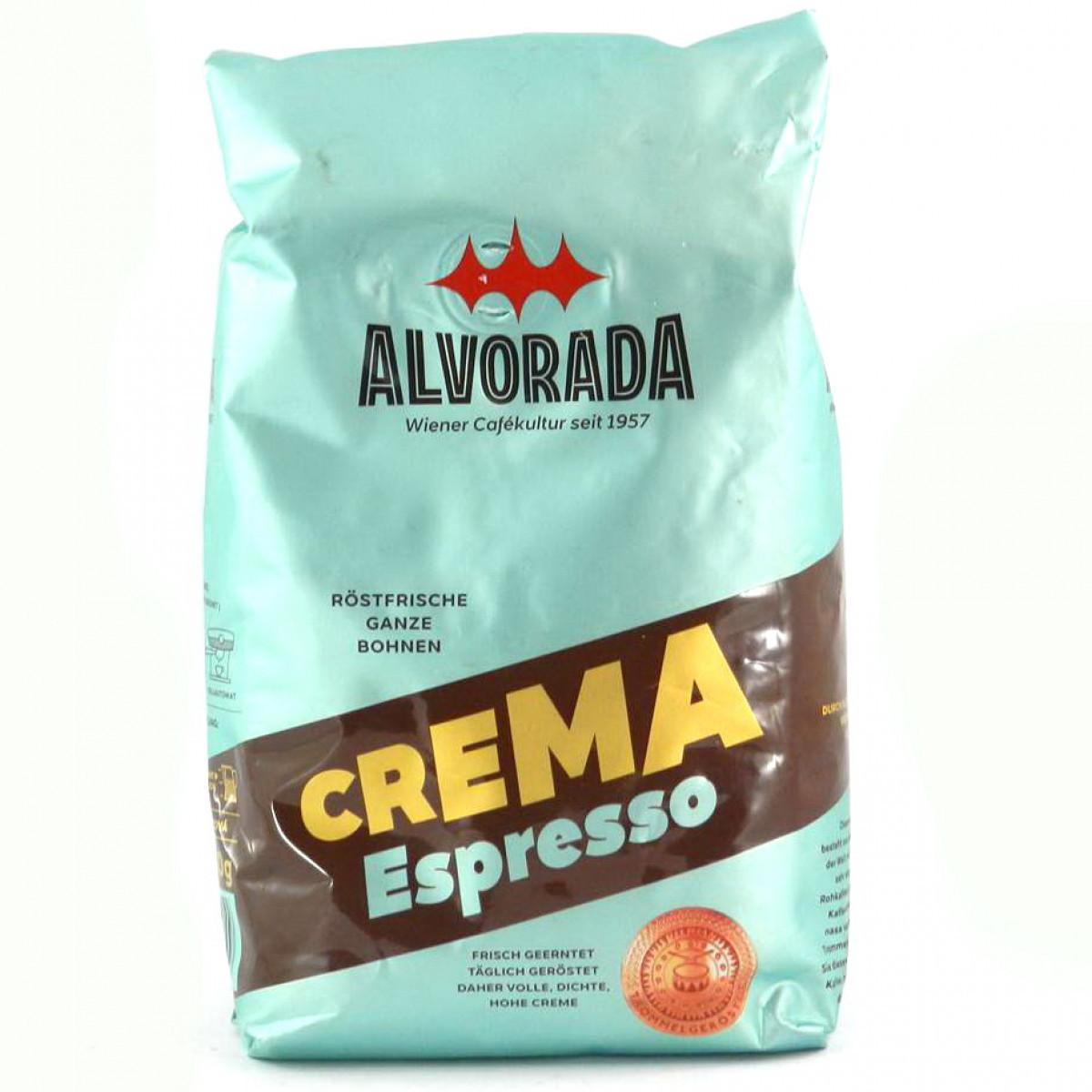 Кофе в зернах Alvorada Crema Espresso, 500 грамм