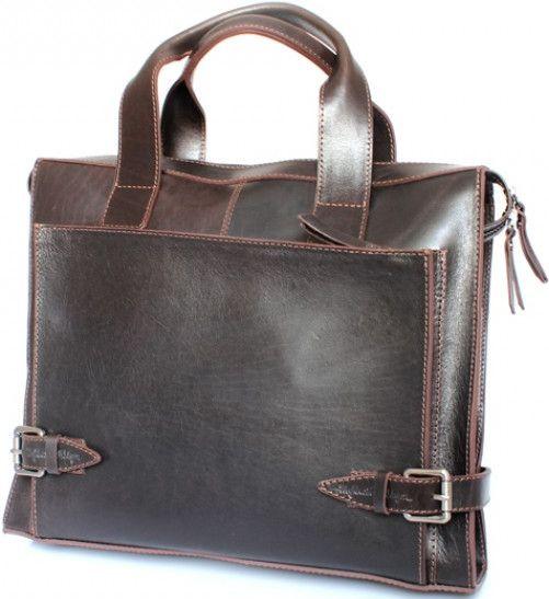c15cce4553ec Кожаная сумка Crossbody Mykhail Ikhtyar, Ikhtyar-6749 коричневый - SUPERSUMKA  интернет магазин в Киеве