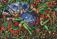 """Схема для вышивания """"Рождественские эльфы """""""