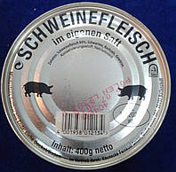 Настоящая немецкая свиная тушенка. 400 гр.Германия