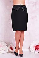 Женская юбка карандаш  XL, XXL размеров SV Т81010