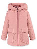 Удлиненная детская курточка с оригинальным капюшоном Гномик