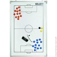 Тактический Инвентарь Select Alu Football 60x90мм, белый (729390-001)